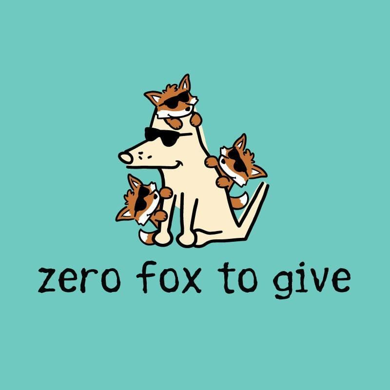 Zero Fox To Give - Ladies T-Shirt V-Neck