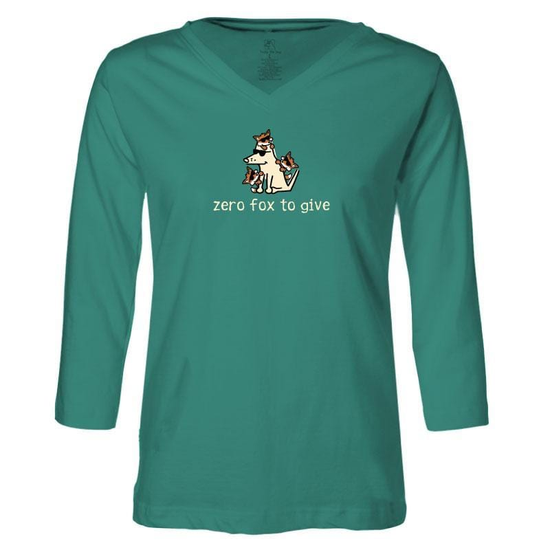 Zero Fox To Give - Ladies T-Shirt 3-4 Sleeve