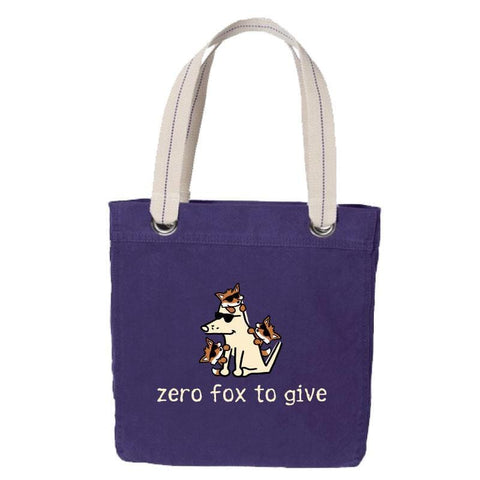Zero Fox To Give - Canvas Tote