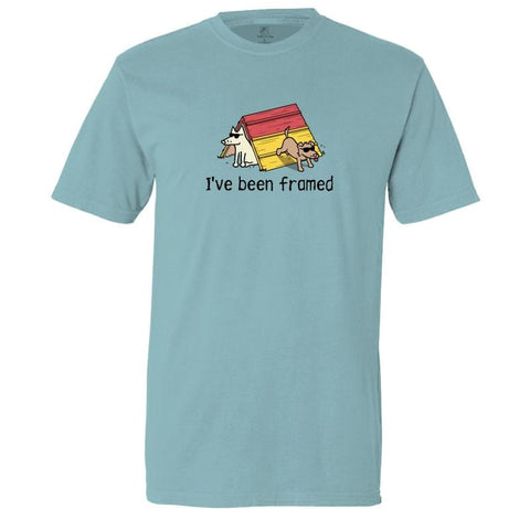 I've Been Framed Classic Tee - Teddy the Dog T-Shirts and Gifts