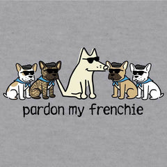 Pardon My Frenchie - Baseball T-Shirt