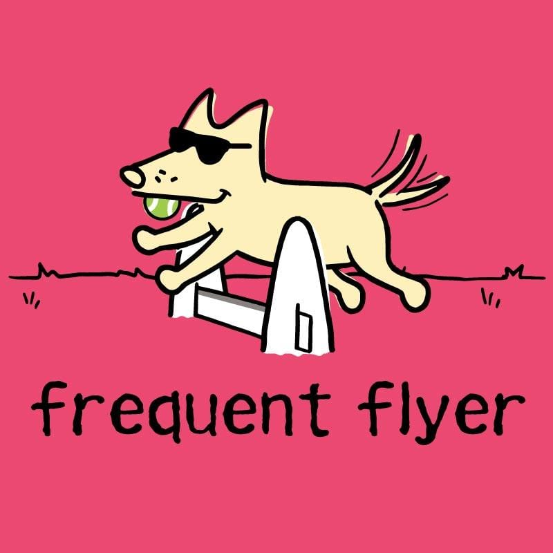 Frequent Flyer - Ladies Curvy V-Neck Tee