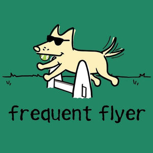 Frequent Flyer - Ladies T-Shirt V-Neck