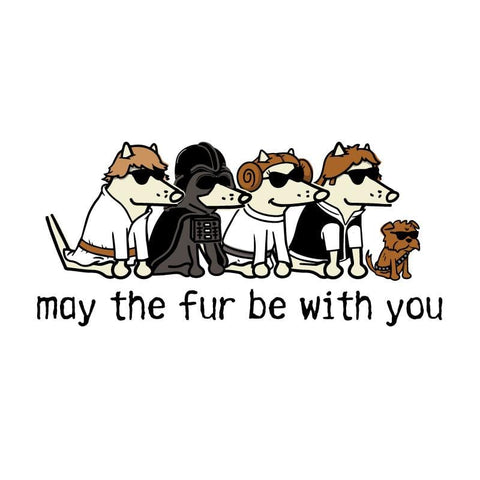 May The Fur Be With You - Coffee Mug
