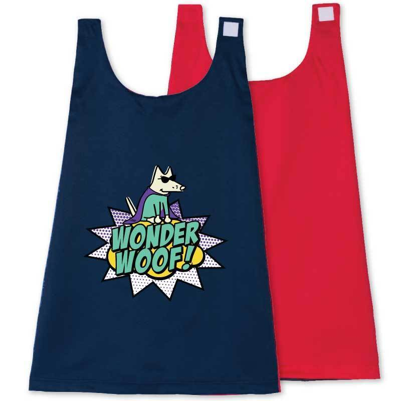 Wonder Woof - Girl Teddy - Toddler Cape