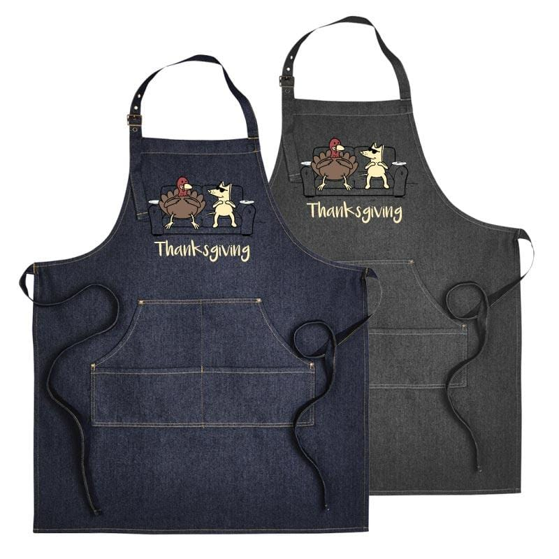 Gobble Till You Wobble - Customizable Apron