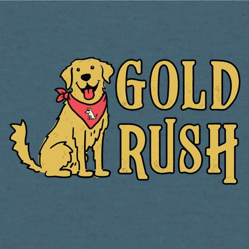 Gold Rush  - Lightweight Tee