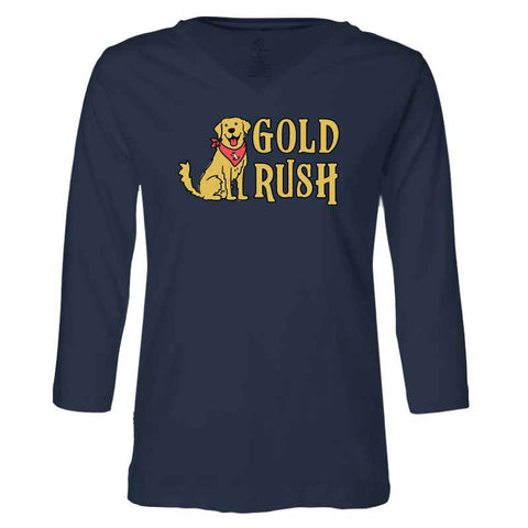 Gold Rush - Ladies T-Shirt 3-4 Sleeve