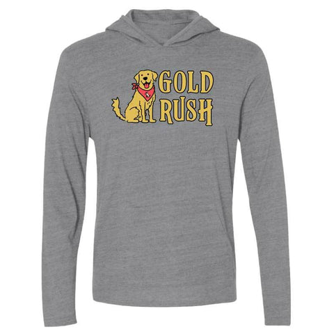 Gold Rush - Long-Sleeve Hoodie T-Shirt