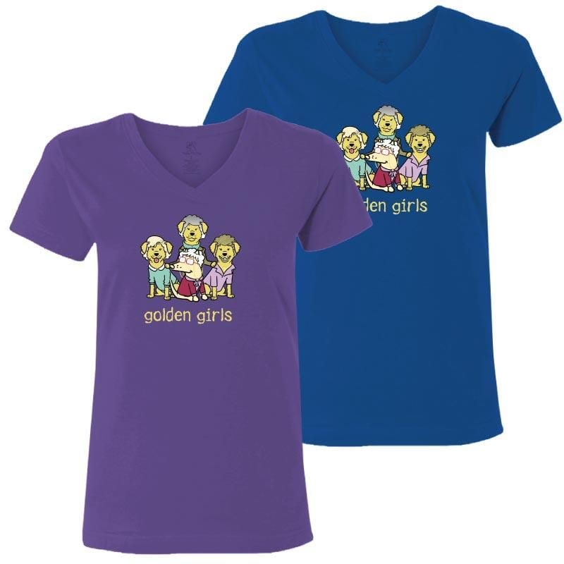 Golden Girls - Ladies T-Shirt V-Neck