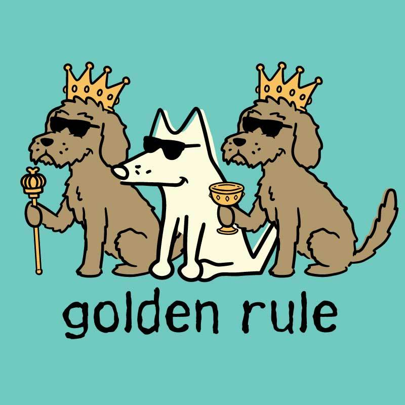 Golden Rule - Ladies T-Shirt V-Neck
