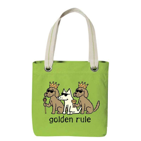 Golden Rule - Canvas Tote
