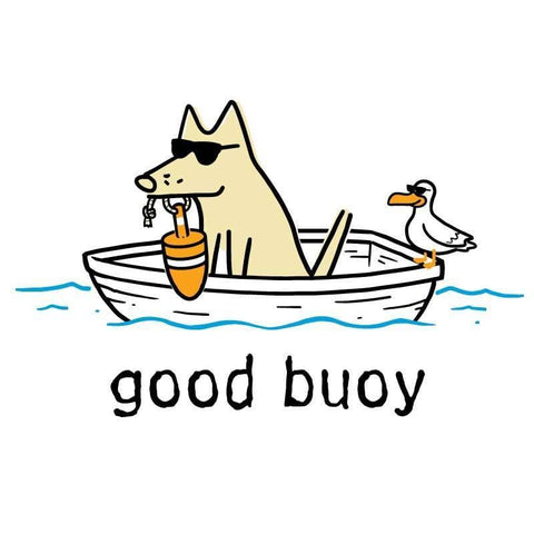 Good Buoy - Youth Long Sleeve Sun Shirt - Teddy the Dog T-Shirts and Gifts