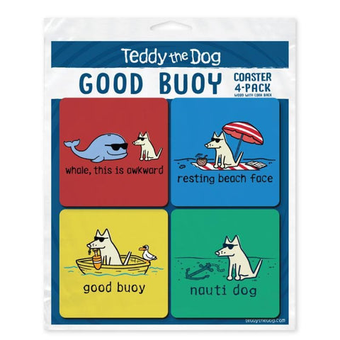 Good Buoy Coaster 4-Pack