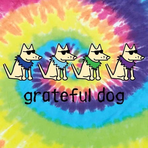 Grateful Dog - Sweatshirt Pullover Hoodie