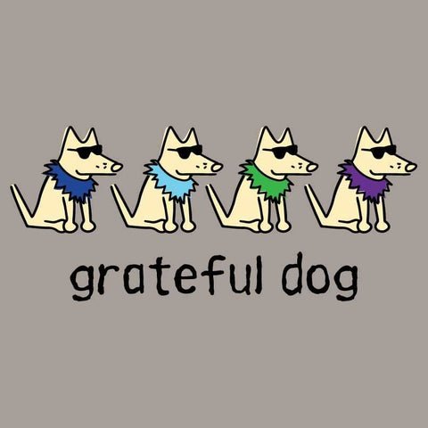 Grateful Dog  - Ladies T-Shirt V-Neck