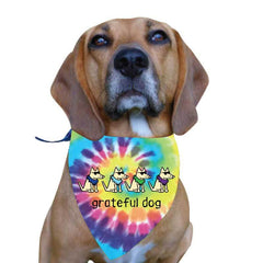 Grateful Dog - Doggie Bandana