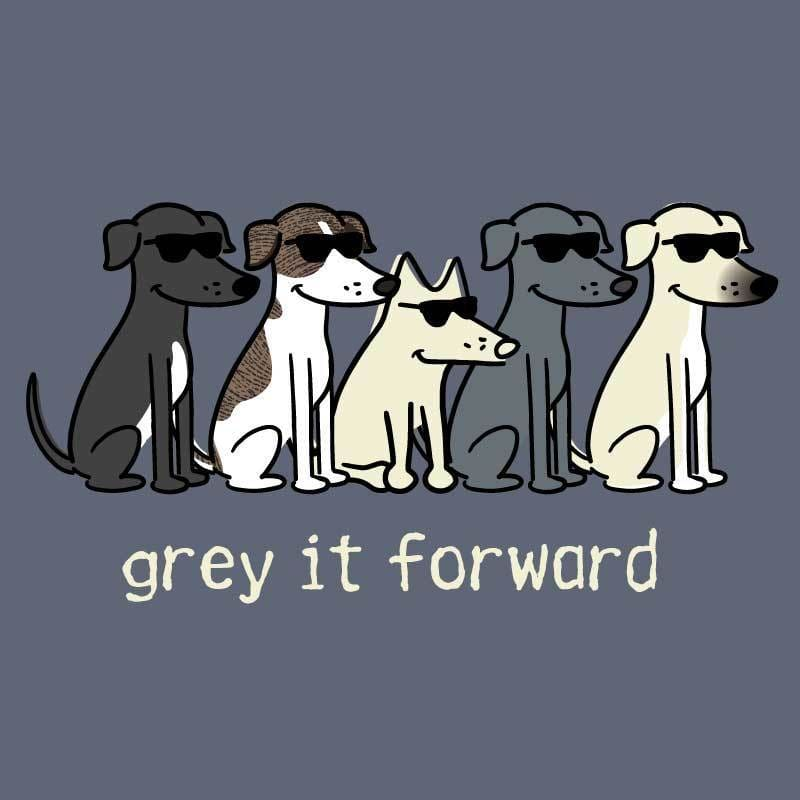 Grey It Forward - Classic Long-Sleeve T-Shirt Classic - Teddy the Dog T-Shirts and Gifts