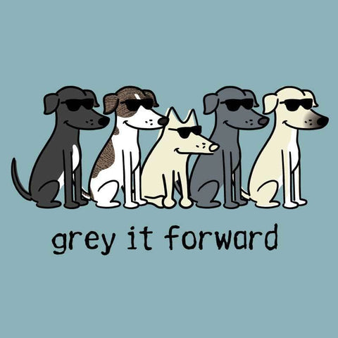 Grey It Forward - Classic Tee - Teddy the Dog T-Shirts and Gifts