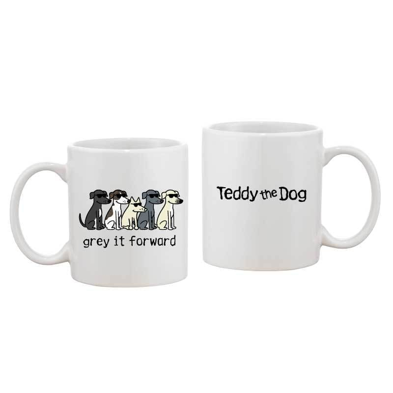Grey It Forward - Coffee Mug - Teddy the Dog T-Shirts and Gifts