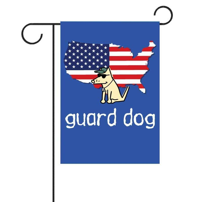 Guard Dog - Garden Flag