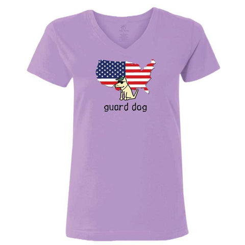 Guard Dog - Ladies T-Shirt V-Neck