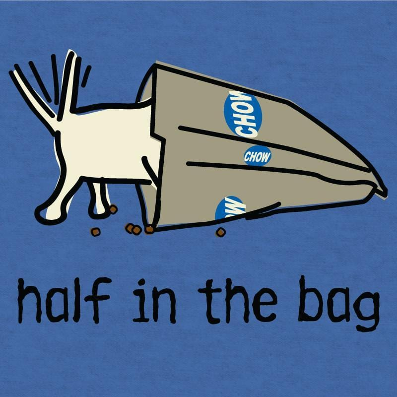 half in the bag lightweight t-shirt