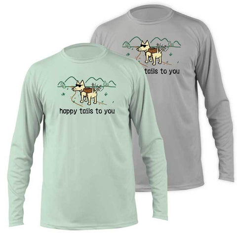 Happy Tails To You -  Long-Sleeve Performance T-Shirt