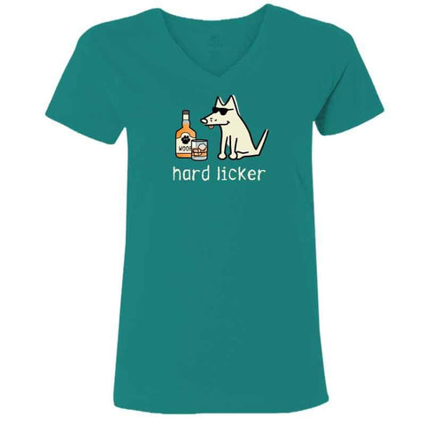 Hard Licker - Ladies T-Shirt V-Neck