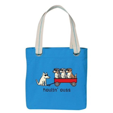 Haulin' Auss - Canvas Tote