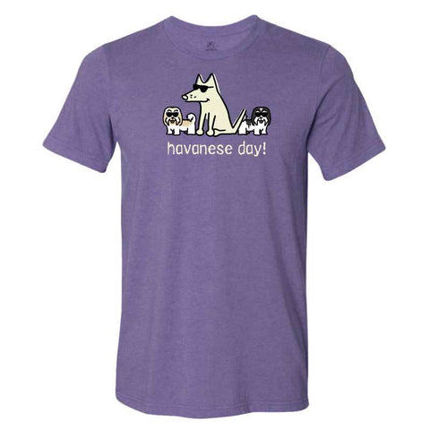 Havanese Day! - Lightweight Tee - Teddy the Dog T-Shirts and Gifts