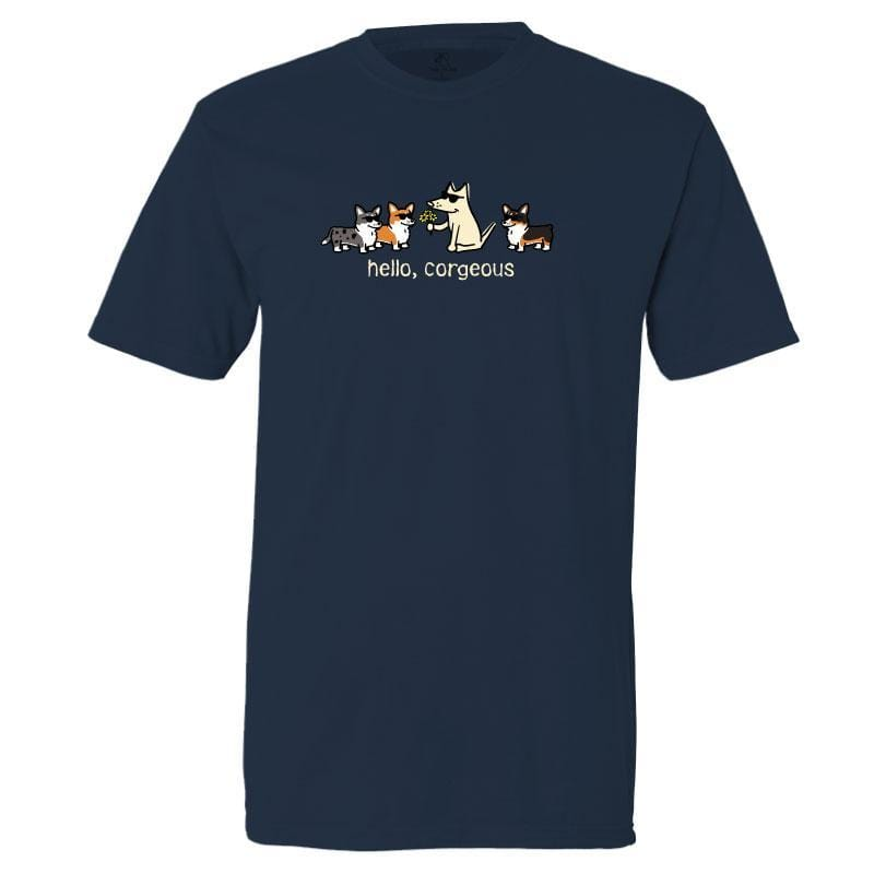 Hello, Corgeous - Classic Tee - Teddy the Dog T-Shirts and Gifts