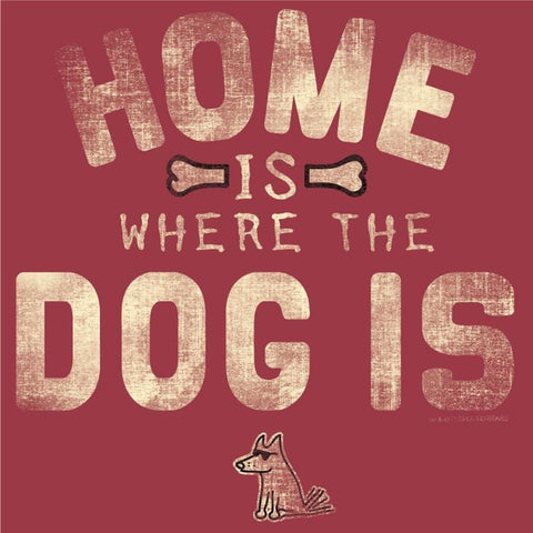 home is where the dog is classic long sleeve