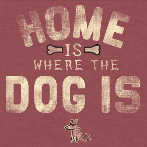 Home Is Where the Dog Is - T-Shirt Lightweight Blend - Teddy the Dog T-Shirts and Gifts