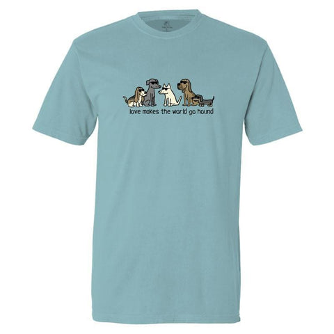 Love Makes The World Go Hound -  Classic Tee