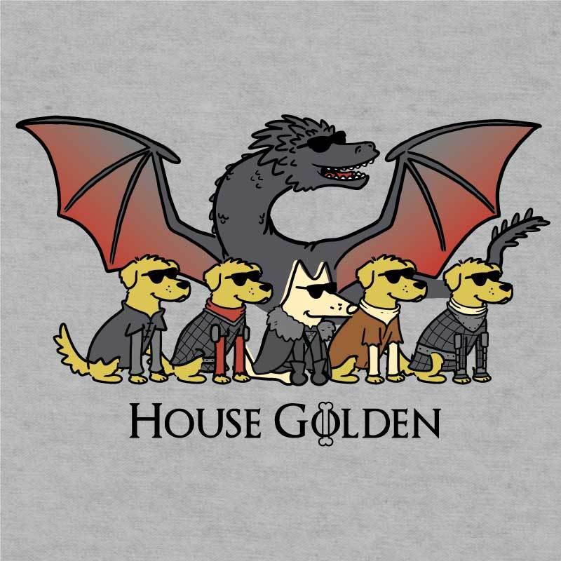 House Golden - Ladies T-Shirt V-Neck