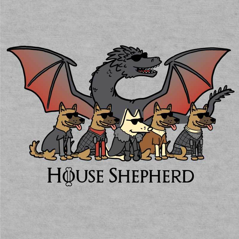 House Shepherd - Ladies T-Shirt V-Neck