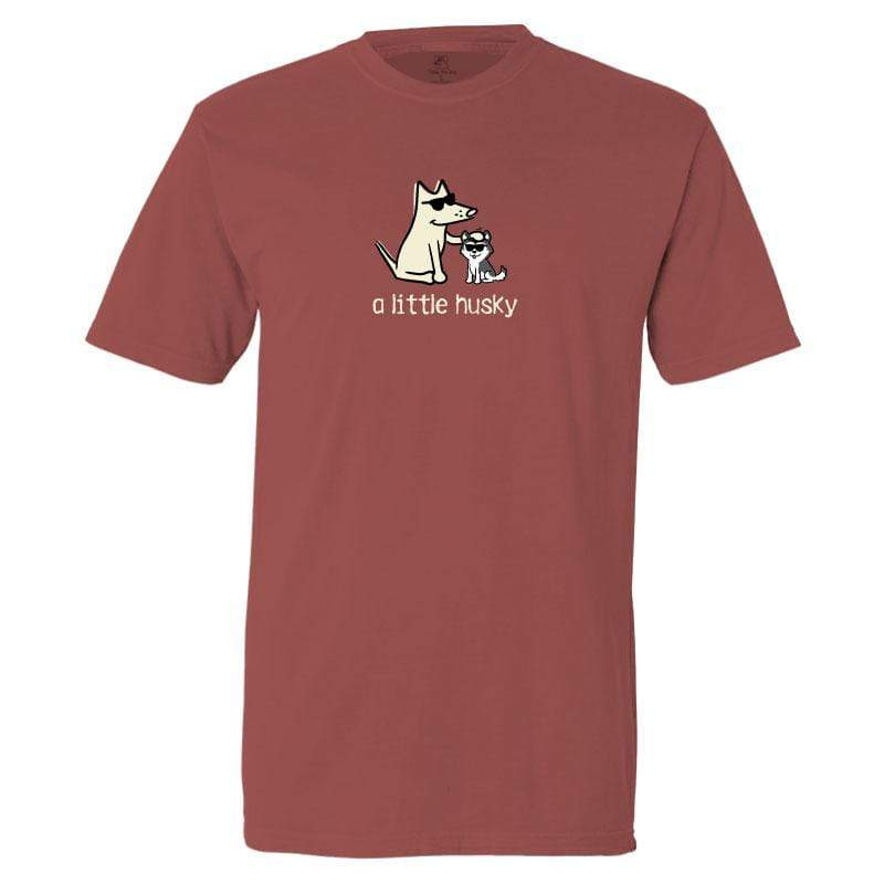 A Little Husky - Classic Tee - Teddy the Dog T-Shirts and Gifts