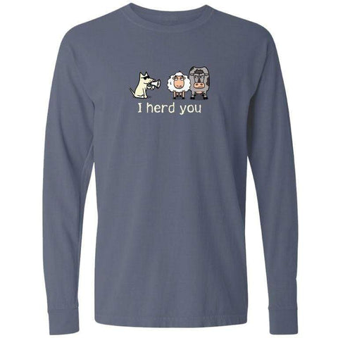 i herd you classic long sleeve