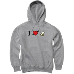 I Love Dogs - Sweatshirt Pullover Hoodie - Teddy the Dog T-Shirts and Gifts