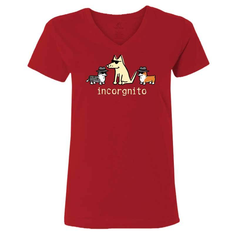 Incorgnito - Ladies T-Shirt V-Neck