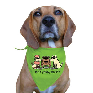 Is It Yappy Hour - Doggie Bandana