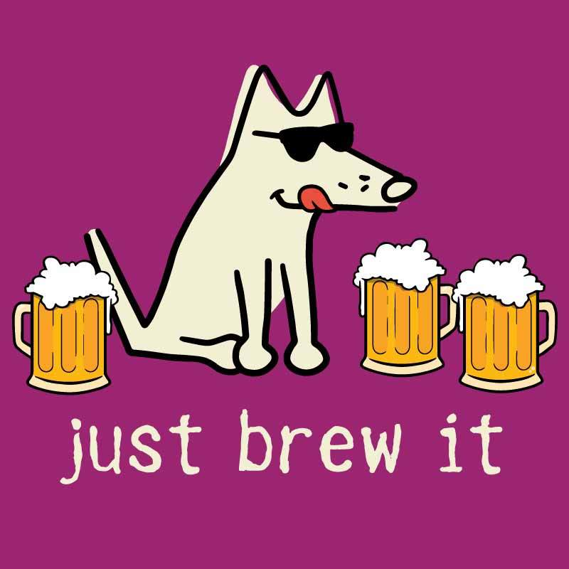 Just Brew It - Ladies T-Shirt V-Neck