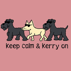 Keep Calm & Kerry On - Ladies T-Shirt V-Neck