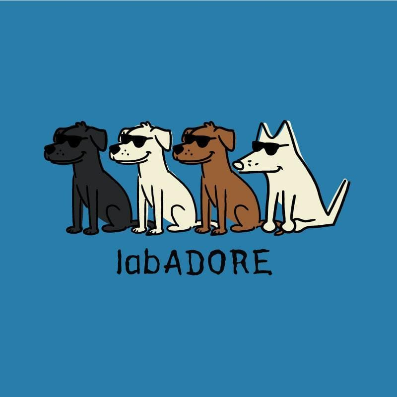 LabADORE - Ladies V-Neck Tee