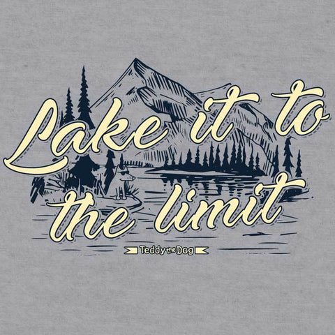 Lake It To The Limit - Baseball T-Shirt