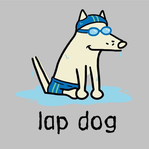 Lap Dog -  Long-Sleeve Performance T-Shirt