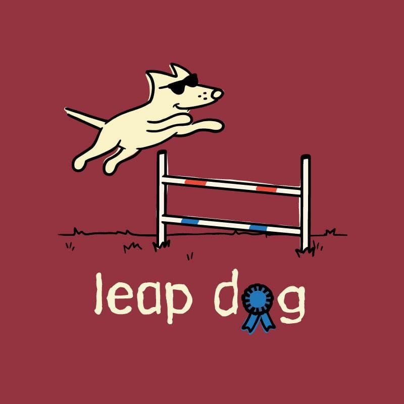 Leap Dog - Long-Sleeve T-Shirt Classic