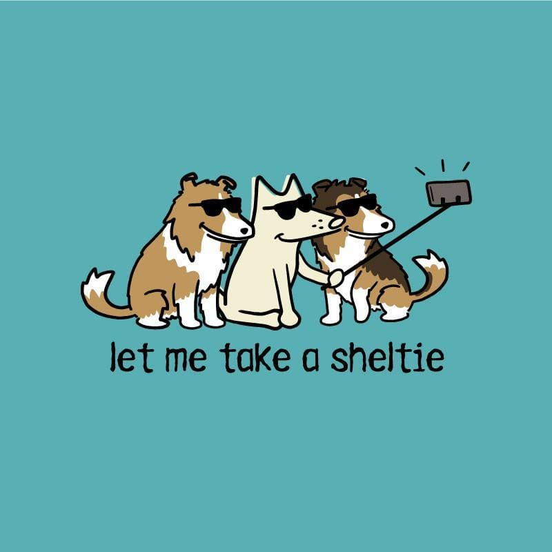 Let Me Take A Sheltie - Lightweight Tee