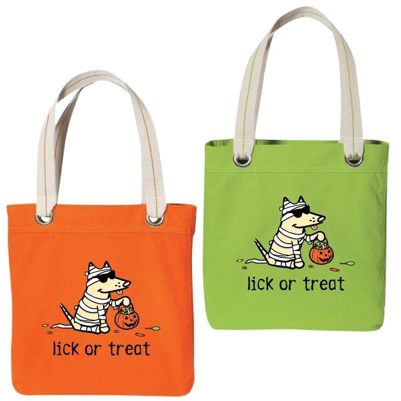 Lick Or Treat - Canvas Tote
